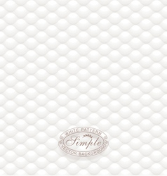 White Textured Wallpaper vector image vector image