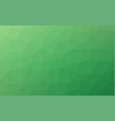 abstract green colorful lowploly of many triangles vector image vector image
