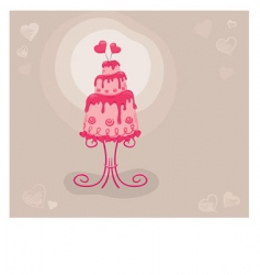 cake lovers vector image vector image