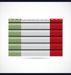 Italy siding produce company icon vector image vector image