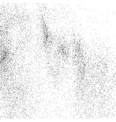 abstract grainy texture isolated on white vector image