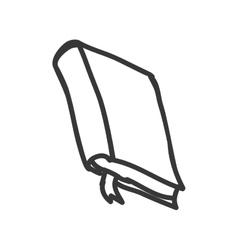 Book icon Sketch design graphic vector