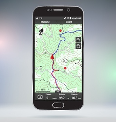 GPS tracking vector