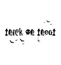 halloween background black and white with bat vector image