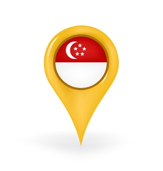 Location Singapore vector image