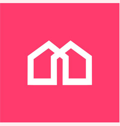 M mu ma mw am home property company logo vector