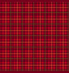 seamless tartan pattern plaid background vector image
