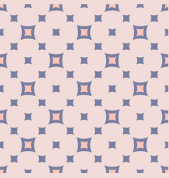 vintage seamless pattern abstract geometric vector image