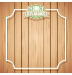 Eco Organic Background vector image vector image