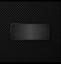 dark metal texture background vector image