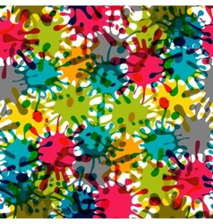 Splash Abstract Seamless Pattern Background vector image vector image