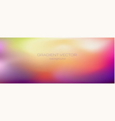 Blurred gradient soft transition colors vector