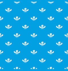 candy shop quality pattern seamless blue vector image
