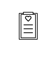 Fitness plan icon vector