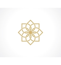 Geometric arabic pattern vector