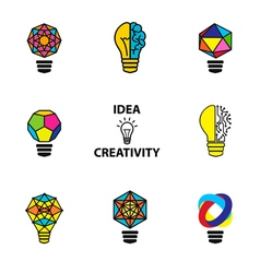 Idea color vector