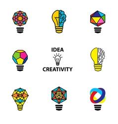 idea color vector image