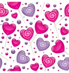 Lollipops seamless pattern vector