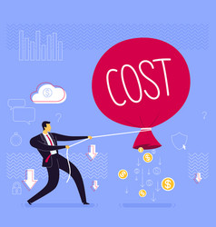 Prevent business loss strategy vector