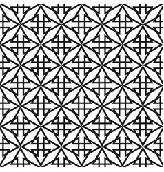 tile pattern with black print on white background vector image