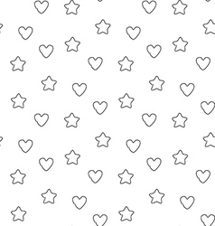 Favorite seamless pattern vector image vector image
