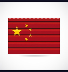 siding produce company icon china vector image