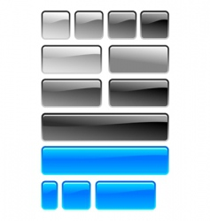 button square vector image vector image