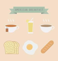 Breakfast vector