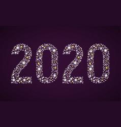 Flickering figures 2020 vector