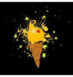 Funny ice-cream vector