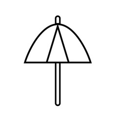 Line umbrella protection of the change weather vector