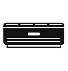 Room air conditioner icon simple style vector