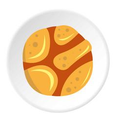Spica icon circle vector