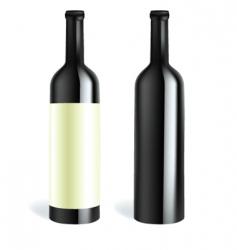 bottle2 vector image vector image