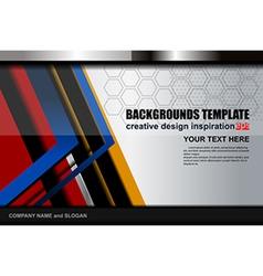 Modern backgrounds template vector