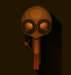 alien entity from another world vector image