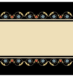 Background with jewelery vector image