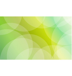collection of green abstract background vector image