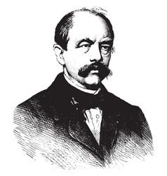 Count von bismarck vintage vector