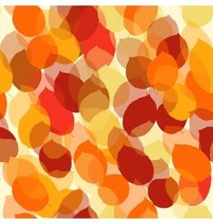Cute seamless leaf autumn pattern vector