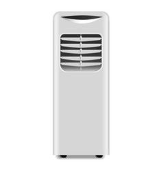 home heater icon realistic style vector image