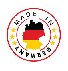 made in germany stamp vector image