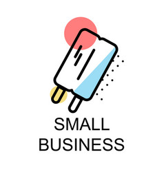 Small business icons design for investment vector