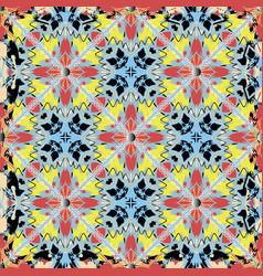 tribal ethnic style geometric seamless pattern vector image