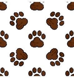 Veterinary pharmacy pattern vector image