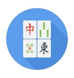 Mahjong vector image