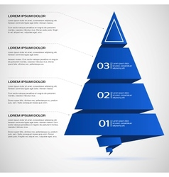 Template for presentations banners infographics vector image vector image