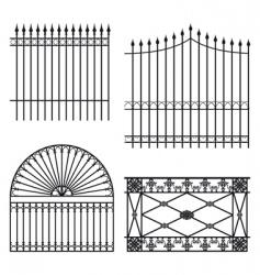 Fences vector