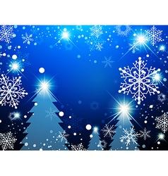Christmas Winter Holiday vector image