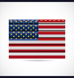 USA siding produce company icon vector image vector image
